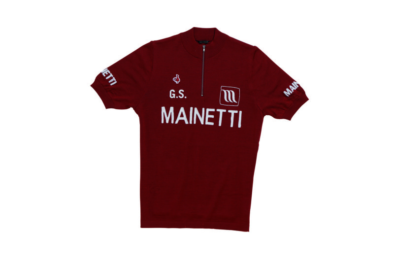 De Marchi Mainetti 1967 Replica Wool Cycling Jersey - Cicli Corsa Classico