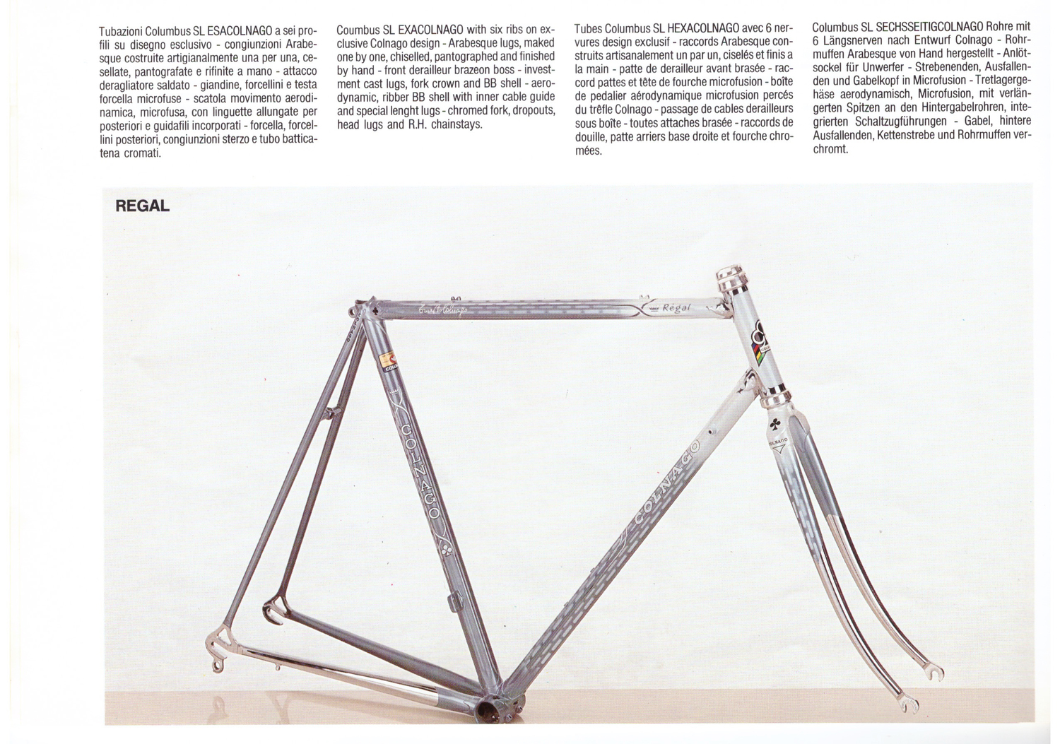 Complete 1986 Colnago Catalogue